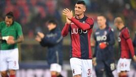 Serie A Bologna, allenamento differenziato per Dzemaili