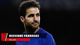 Milan, missione in Inghilterra per Fabregas