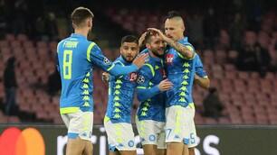 Napoli-Stella Rossa 3-1: Mertens da urlo al San Paolo