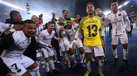 Psg, Neymar si scatena con la maglia di Alisson