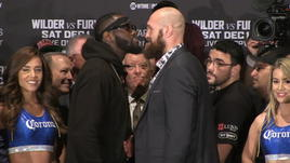 Wilder-Fury, scoppia la rissa...