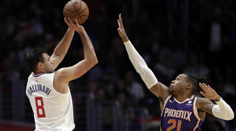 NBA: Clippers ok, Gallinari in ombra.Lakers ancora ko senza LeBron