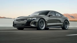Audi e-tron GT Concpet, 590 cavalli elettrici