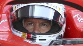 F1 Ferrari, Vettel: «Ho fatto degli errori, ma so come correggerli»