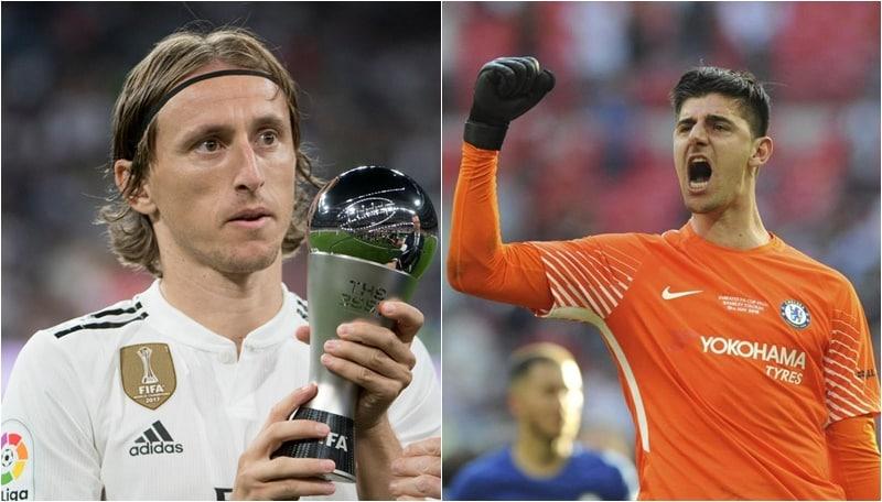Iffhs: Modric miglior giocatore 2018, solo 10° CR7. Courtois re dei portieri