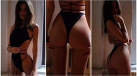 Emily Ratajkowski da urlo: bikini troppo piccolo, fan in delirio