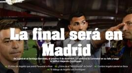 Ufficiale: River-Boca si giocherà a Madrid
