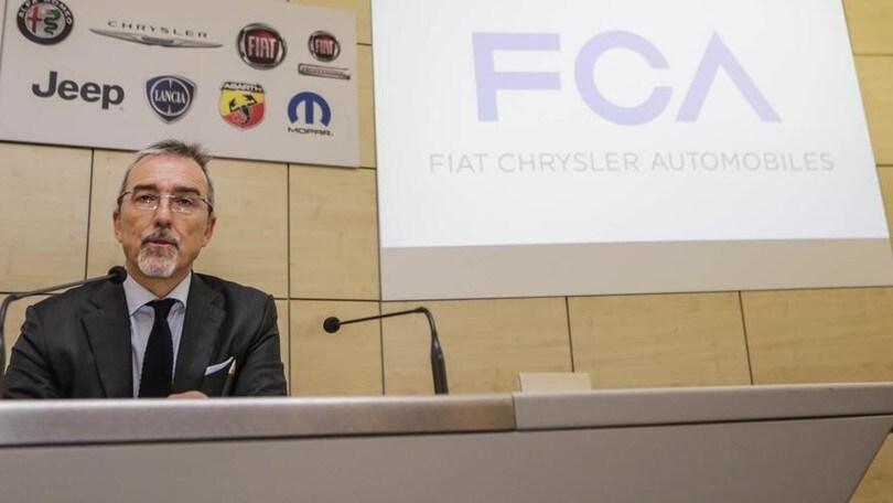 Gorlier: FCA, 5 miliardi per 13 modelli nelle fabbriche italiane entro il 2021