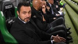 Serie A Sassuolo, De Zerbi ripensa alla difesa a tre