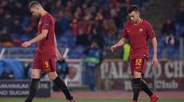 Roma, Dzeko e El Shaarawy fuori quattro partite