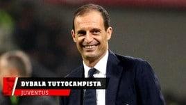Juventus, Allegri e la nuova veste di Dybala