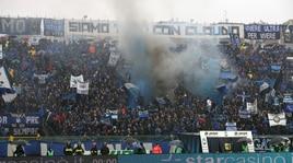 Gli ultras minacciano cori, rischio sospensione per Atalanta-Napoli