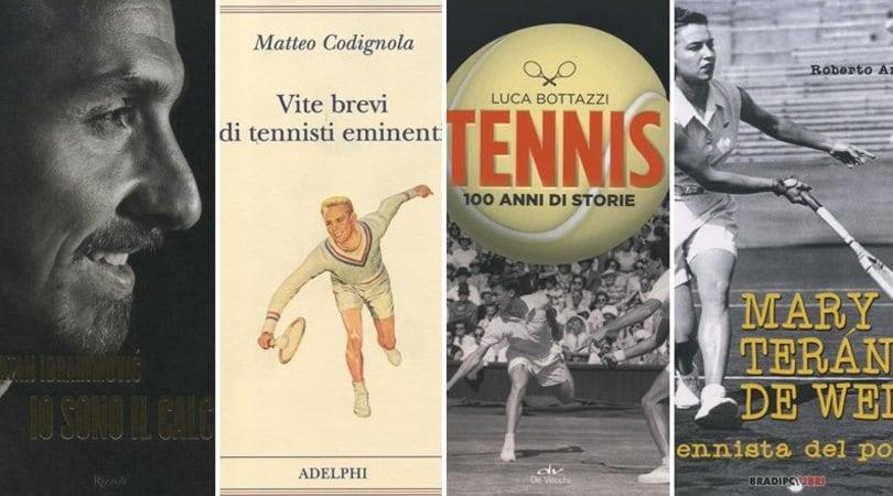 L'autobiografia di Ibrahimovic e tre libri sul tennis