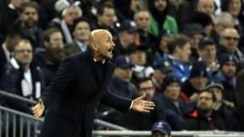 Inter, Spalletti: «Totti? Se lo vedo, lo saluto»