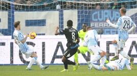 Serie A, Spal-Empoli 2-2: doppio Kurtic e gol di Caputo e Krunic