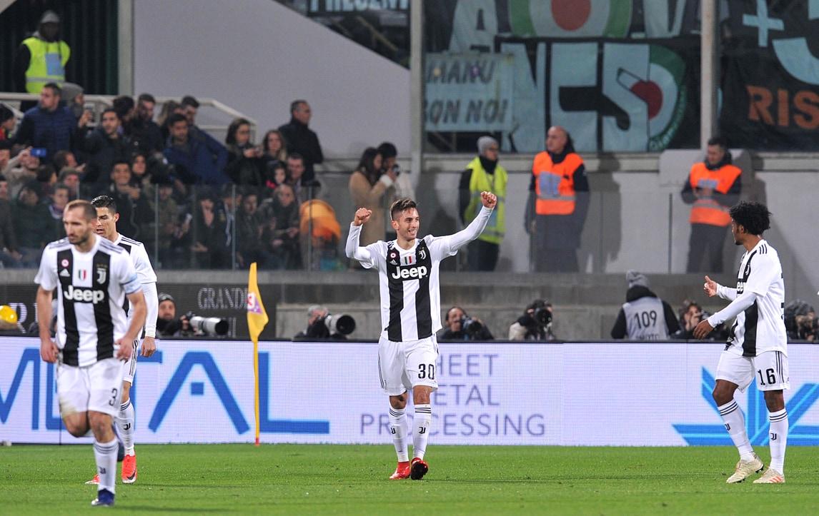 Fiorentina-Juventus 0-3: Bentancur, Chiellini e Ronaldo