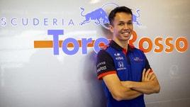 F1 Toro Rosso, Albon: «Lo sognavo da quando avevo 6 anni»