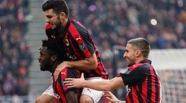 Milan-Parma 2-1, Inglese illude D'Aversa: Cutrone e Kessie firmano la rimonta