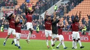 Cutrone-Kessie, il Milan ribalta il Parma