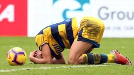 Serie A Parma, tegola Grassi: rottura del crociato