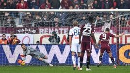 Serie A Torino-Genoa 2-1, il tabellino