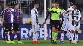 Moviola Serie A: rigore Juve, sì ma... Milenkovic da rosso