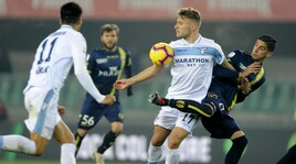 Serie A, Chievo-Lazio 1-1: Immobile risponde a Pellissier