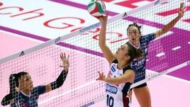 Volley: A1 Femminile, vincono Novara, Conegliano e Scandicci