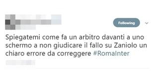 Rigore non dato alla Roma, tifosi furiosi sui social