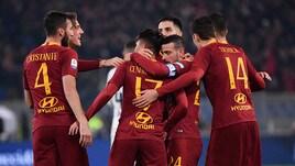 Serie A Roma-Inter 2-2, il tabellino