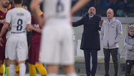 Spalletti fischiato ed espulso all'Olimpico
