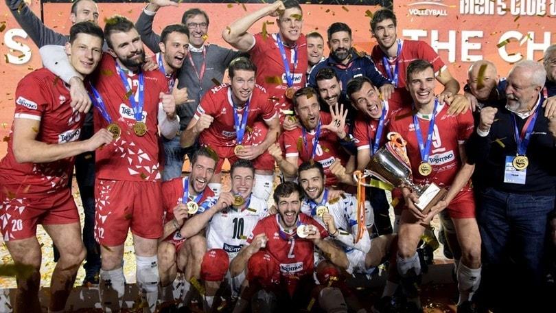 Volley: Mondiale per Club, Trento sale sul tetto del mondo