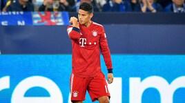 James Rodriguez: «Bayern? Se non gioco, vado via»