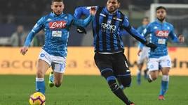 Serie A Atalanta-Napoli 1-2, il tabellino