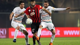 Serie B Foggia-Venezia 1-1. Vrioni replica a Iemmello