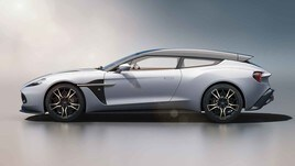 Aston Martin Vanquish Zagato Shooting Brake, wagon esclusiva