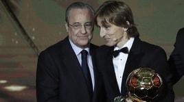 Modric: «Pallone d'Oro? Ronaldo e Messi di un altro livello»