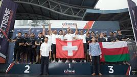 Extreme Sailing Series, vince Alinghi