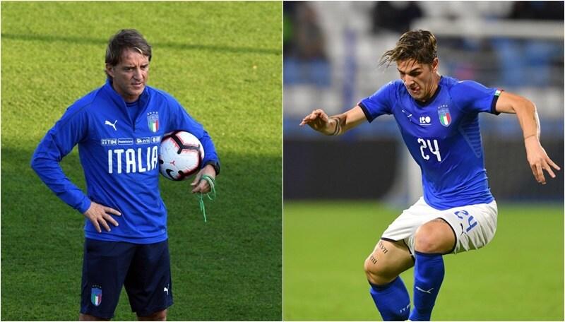 Mancini:«Zaniolo mi ha impressionato»