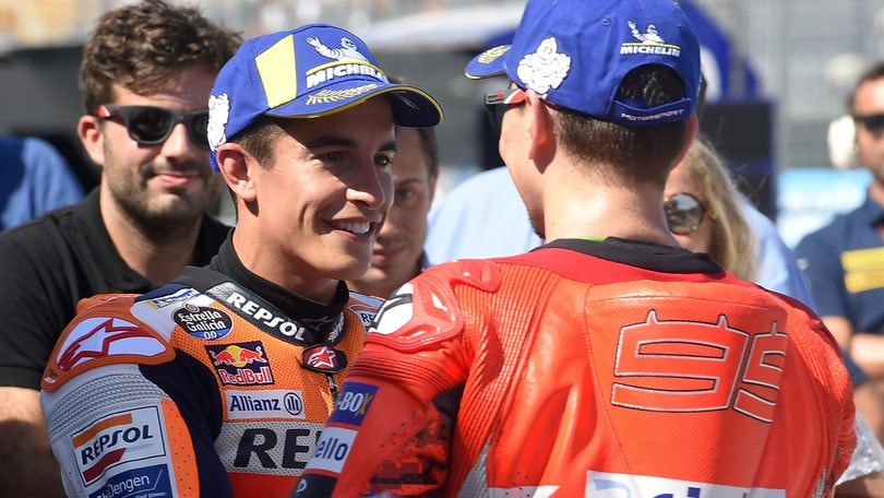 MotoGp Honda, Marquez e Lorenzo sotto i ferri
