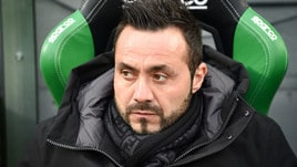 Coppa Italia Sassuolo, De Zerbi: «Per noi sarà partita vera»