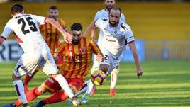Coppa Italia Benevento-Cittadella 1-0. Decide Bandinelli
