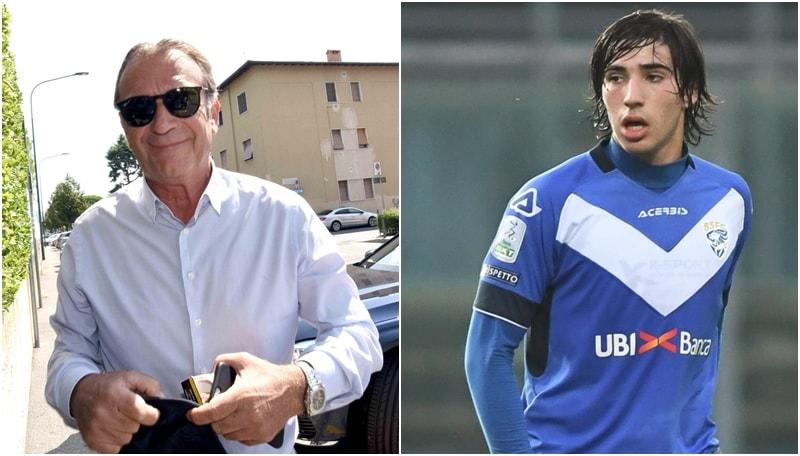 Brescia, Cellino su Tonali:«È un marziano, assomiglia a Pirlo»