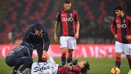 Serie A Bologna, escluse lesioni per Santander