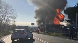 Rieti, esplosione in un benzinaio sulla Salaria: due morti