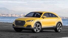 Audi Q4, iniziati i test dinamici