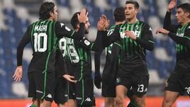 Coppa Italia, Sassuolo-Catania 2-1: Locatelli regala la qualificazione agli ottavi