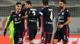 Coppa Italia, Chievo-Cagliari 1-2:Pisacane decisivo, per i sardi ora c'è l'Atalanta