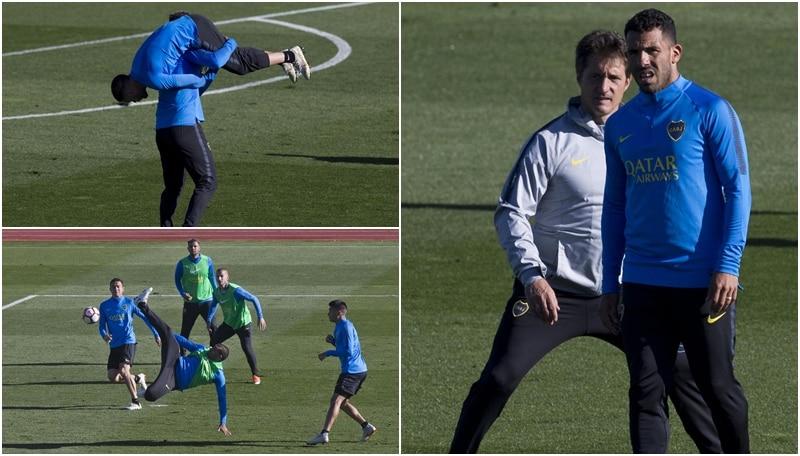 Finale Coppa Libertadores: il Boca si allena a Madrid