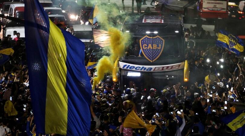 Libertadores, River-Boca: l'atmosfera a Madrid e lo sfogo di Tevez